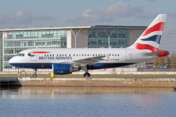 G-EUNA - British Airways Airbus A318