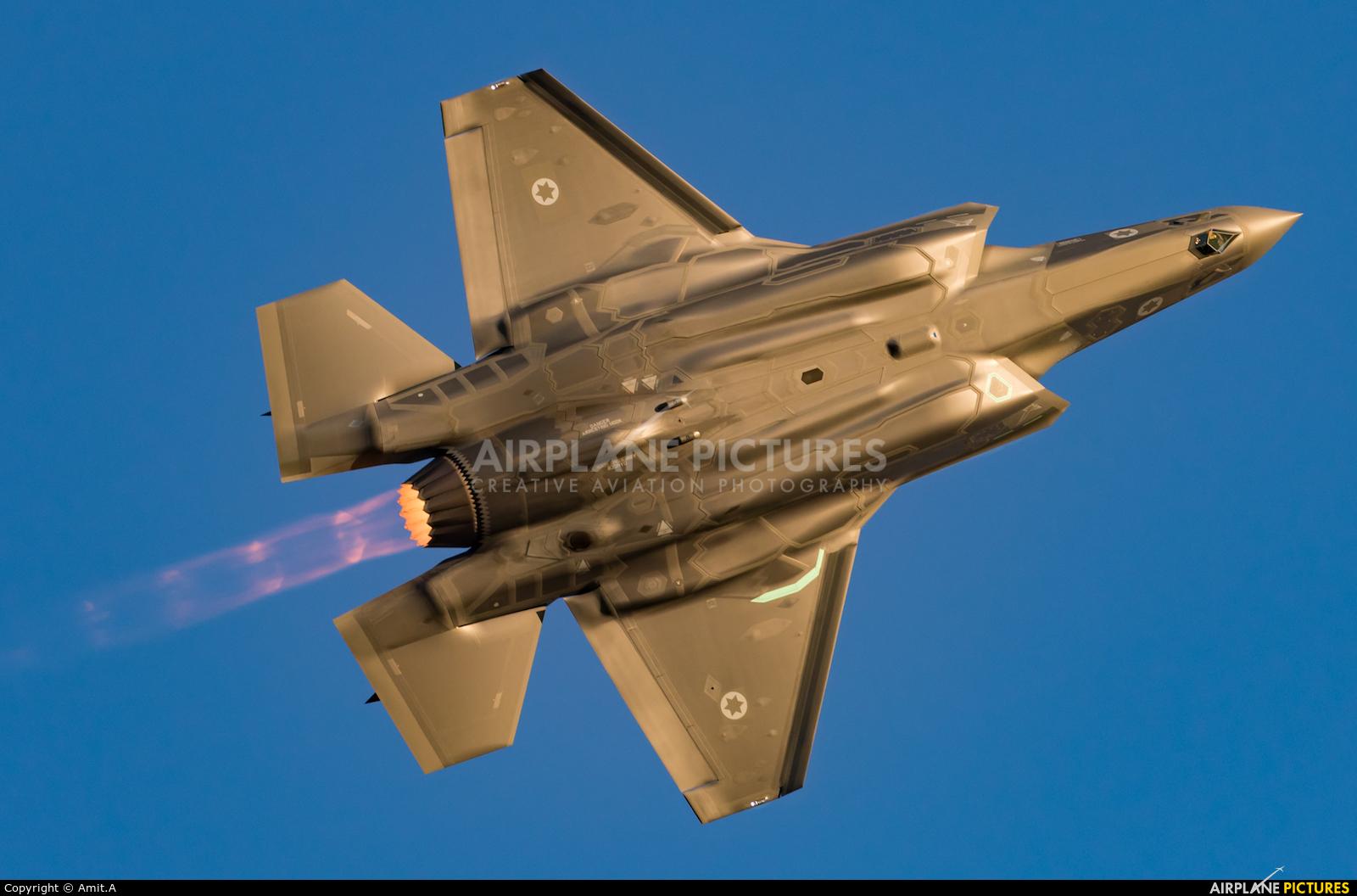 Israel - Defence Force 901 aircraft at Beersheba - Hatzerim