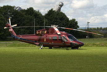 G-XXEB - The Queens Helicopter Flight Sikorsky S-76
