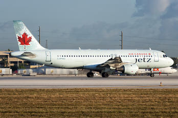 C-FPWD - Air Canada Jetz Airbus A320