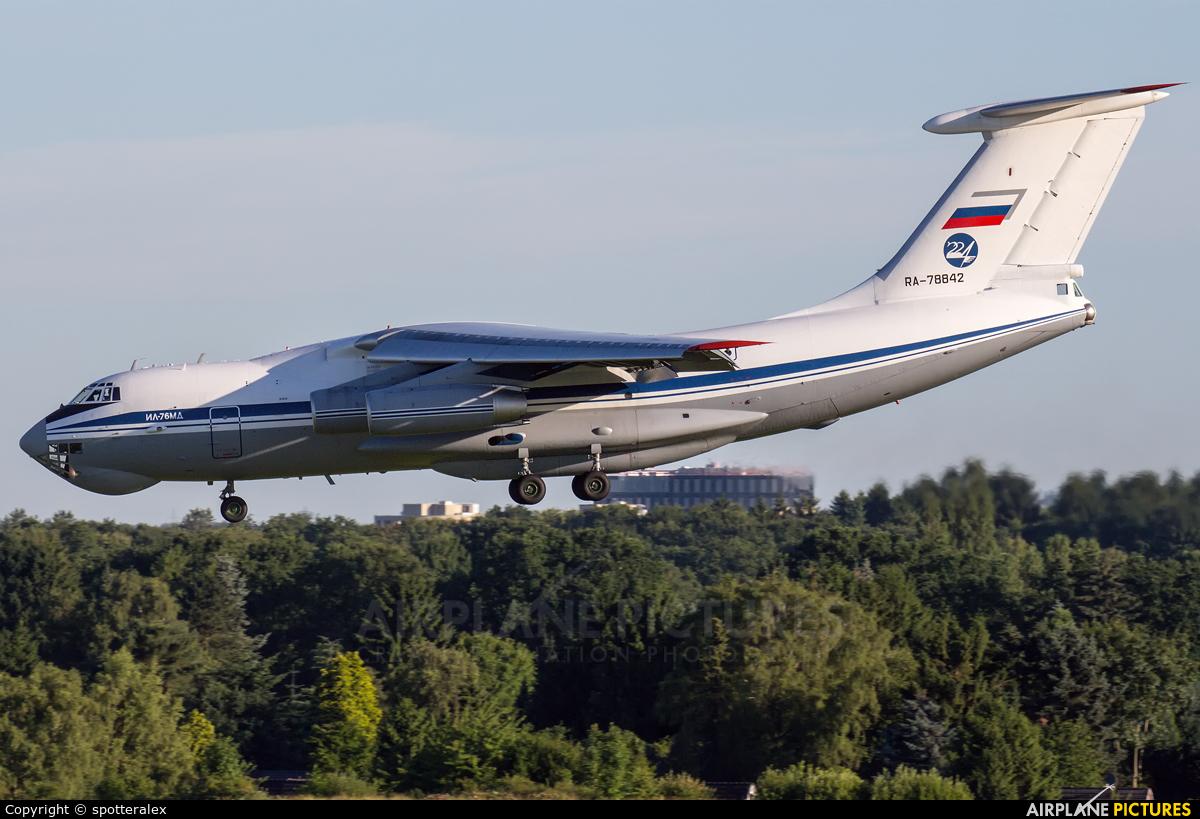 Russia - Air Force RA-78842 aircraft at Hamburg - Fuhlsbüttel