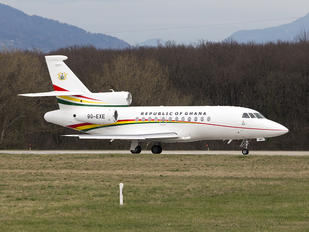 9G-EXE - Ghana - Government Dassault Falcon 900 series