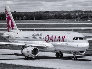 A7-ADB - Qatar Airways Airbus A320