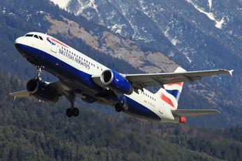 G-EUYC - British Airways Airbus A320