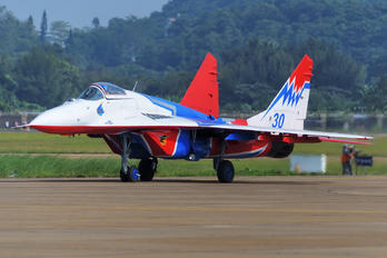 "30 - Russia - Air Force ""Strizhi"" Mikoyan-Gurevich MiG-29"