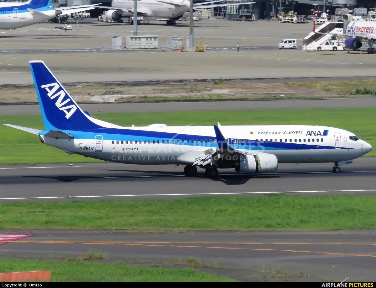 ANA - All Nippon Airways JA58AN aircraft at Tokyo - Haneda Intl