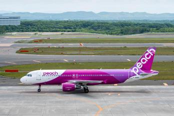 JA811P - Peach Aviation Airbus A320