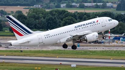F-GUGQ - Air France Airbus A318