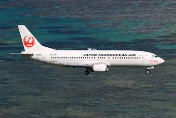 JA8996 - JAL - Japan Transocean Air Boeing 737-400