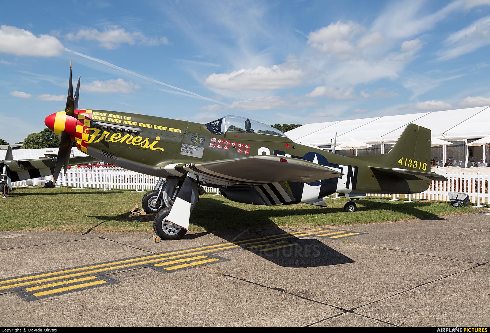 Private N357FG aircraft at Duxford