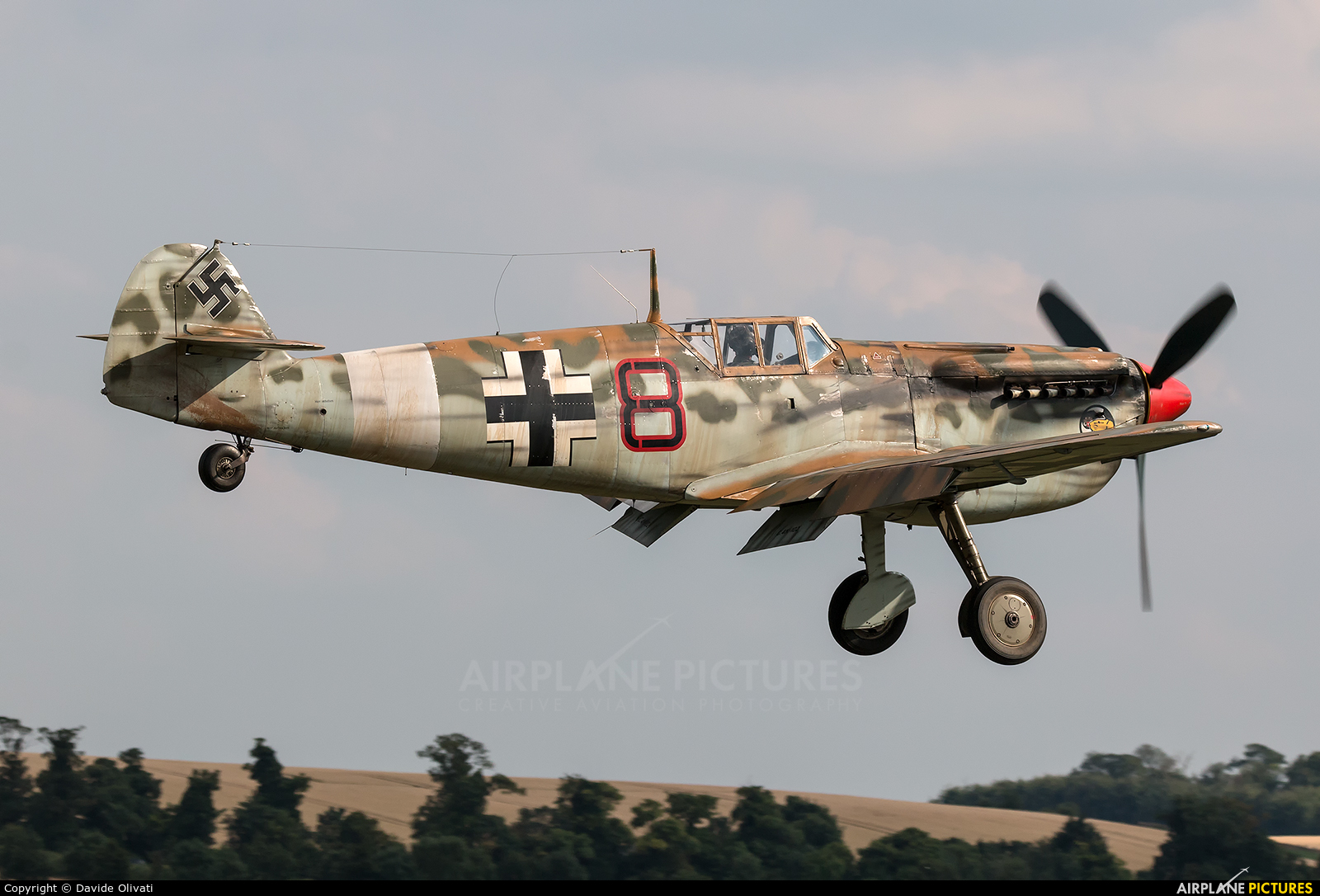 Private G-AWHK aircraft at Duxford