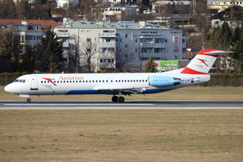 OE-LVF - Austrian Airlines/Arrows/Tyrolean Fokker 100