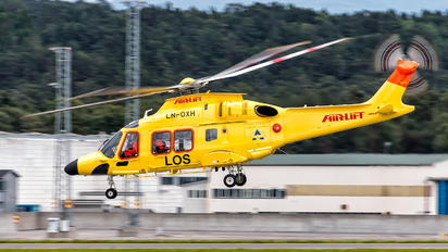 LN-OXH - Airlift AS (Norway) Agusta Westland AW169