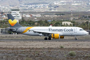 OO-TCH - Thomas Cook Belgium Airbus A320 aircraft