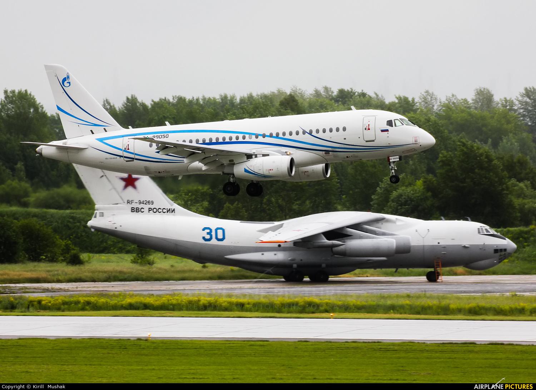 Gazpromavia RA-89050 aircraft at Bolshoe Savino - Perm
