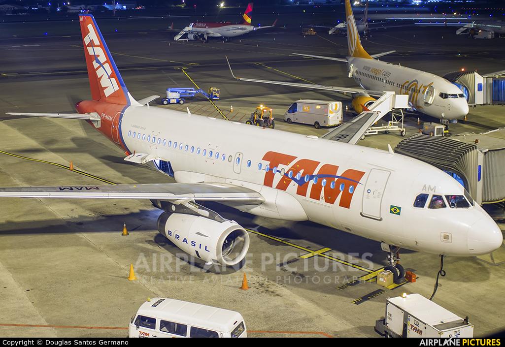 TAM PR-MAM aircraft at Porto Alegre - Salgado Filho