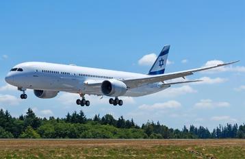 N1020L - El Al Israel Airlines Boeing 787-9 Dreamliner