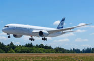 First flight of El Al Israel Airlines Boeing 787-9  title=