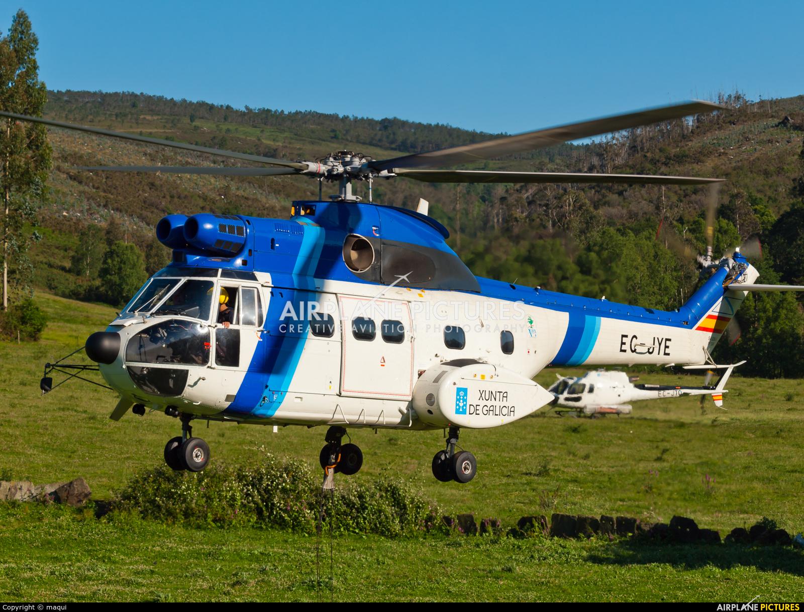 INAER EC-JYE aircraft at La Coruña - Off Airport