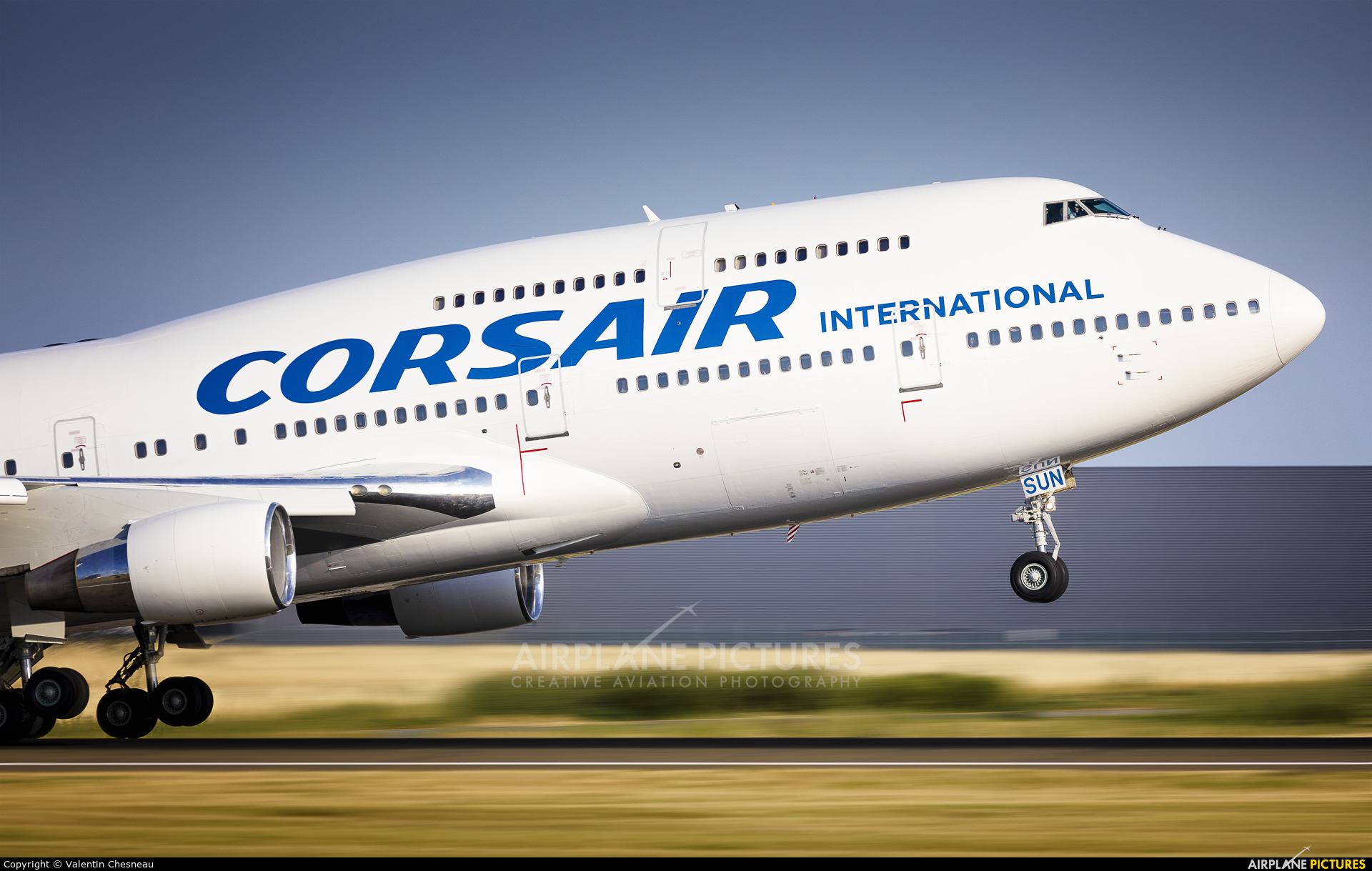 Corsair / Corsair Intl F-HSUN aircraft at Paris - Orly