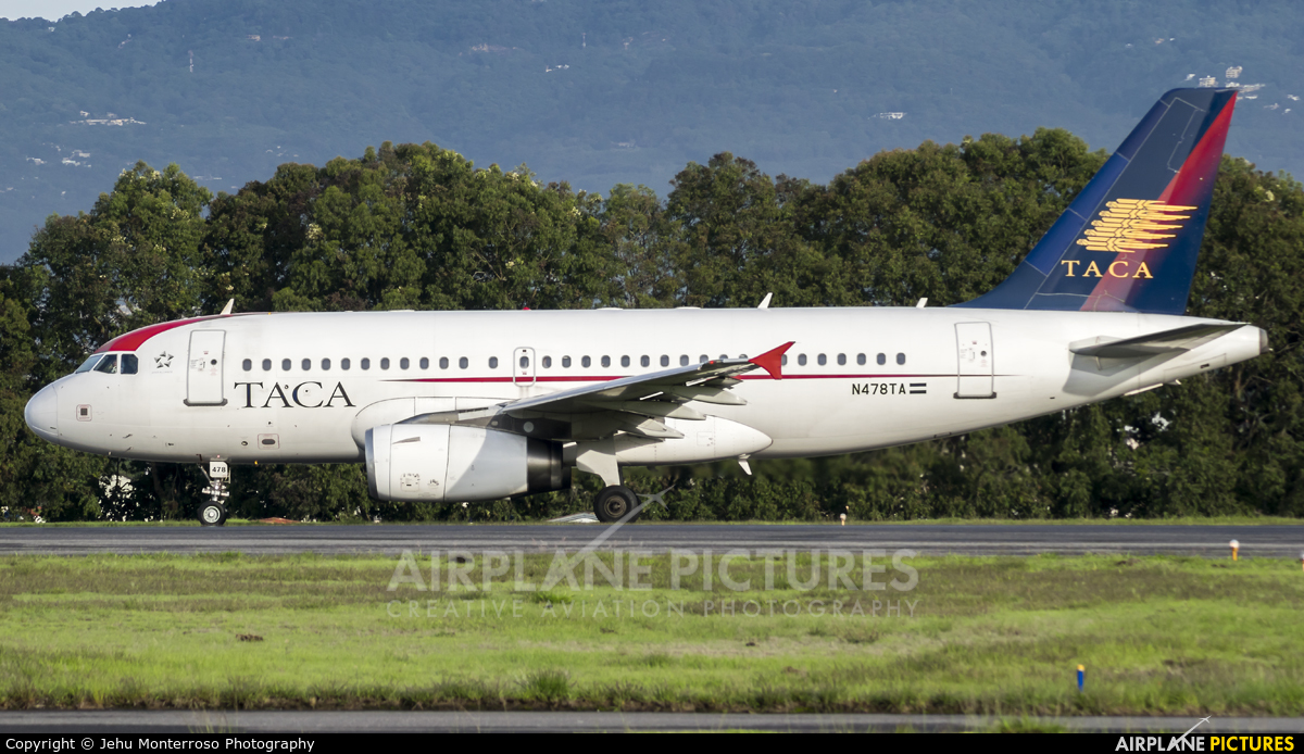 TACA N478TA aircraft at Guatemala - La Aurora