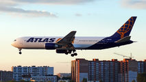 Atlas Air B763 visits Lviv title=