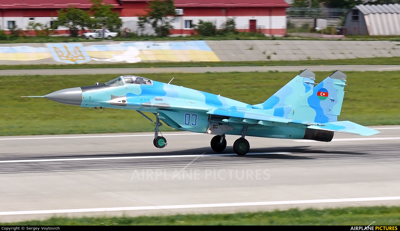 Azerbaijan - Air Force 03 aircraft at Lviv Danylo Halytskyi International Airport (Lwów Skniłów)