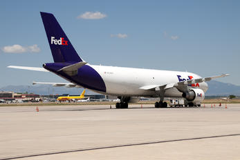 N744FD - FedEx Federal Express Airbus A300F