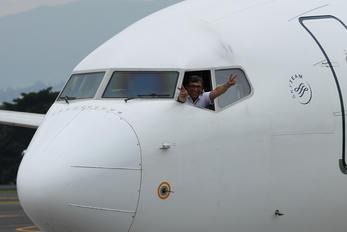 XA-AME - Aeromexico Boeing 737-800
