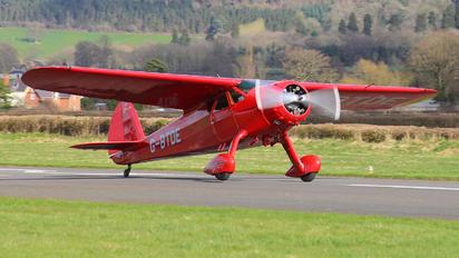 G-BTDE - Private Cessna C-165 Airmaster
