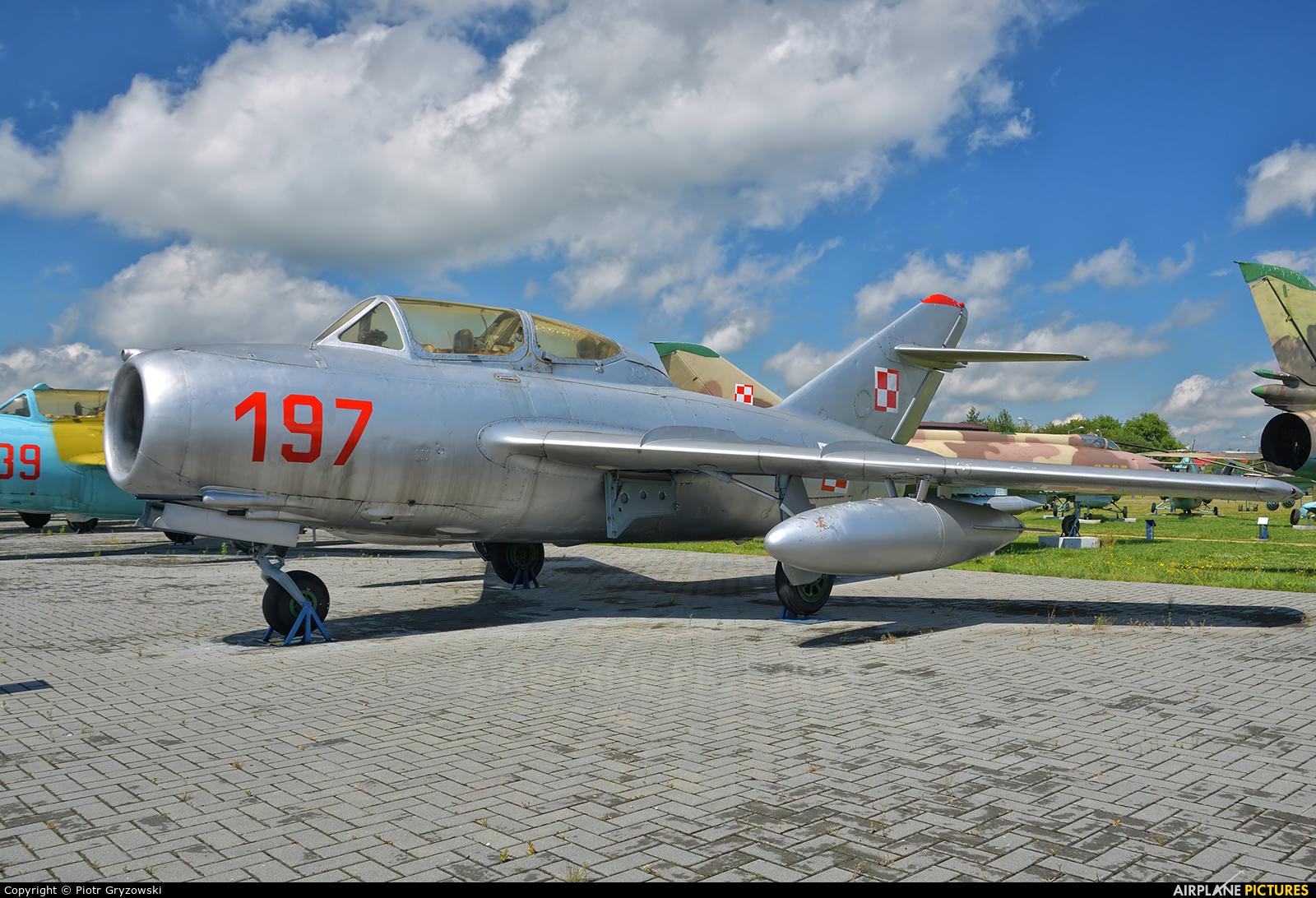 Poland - Air Force 197 aircraft at Dęblin - Museum of Polish Air Force