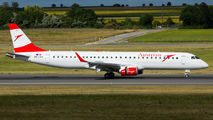 New Embraer 195 in Austrian Airlines' fleet title=