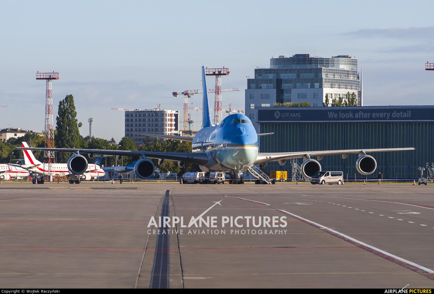 USA - Air Force 92-29000 aircraft at Warsaw - Frederic Chopin