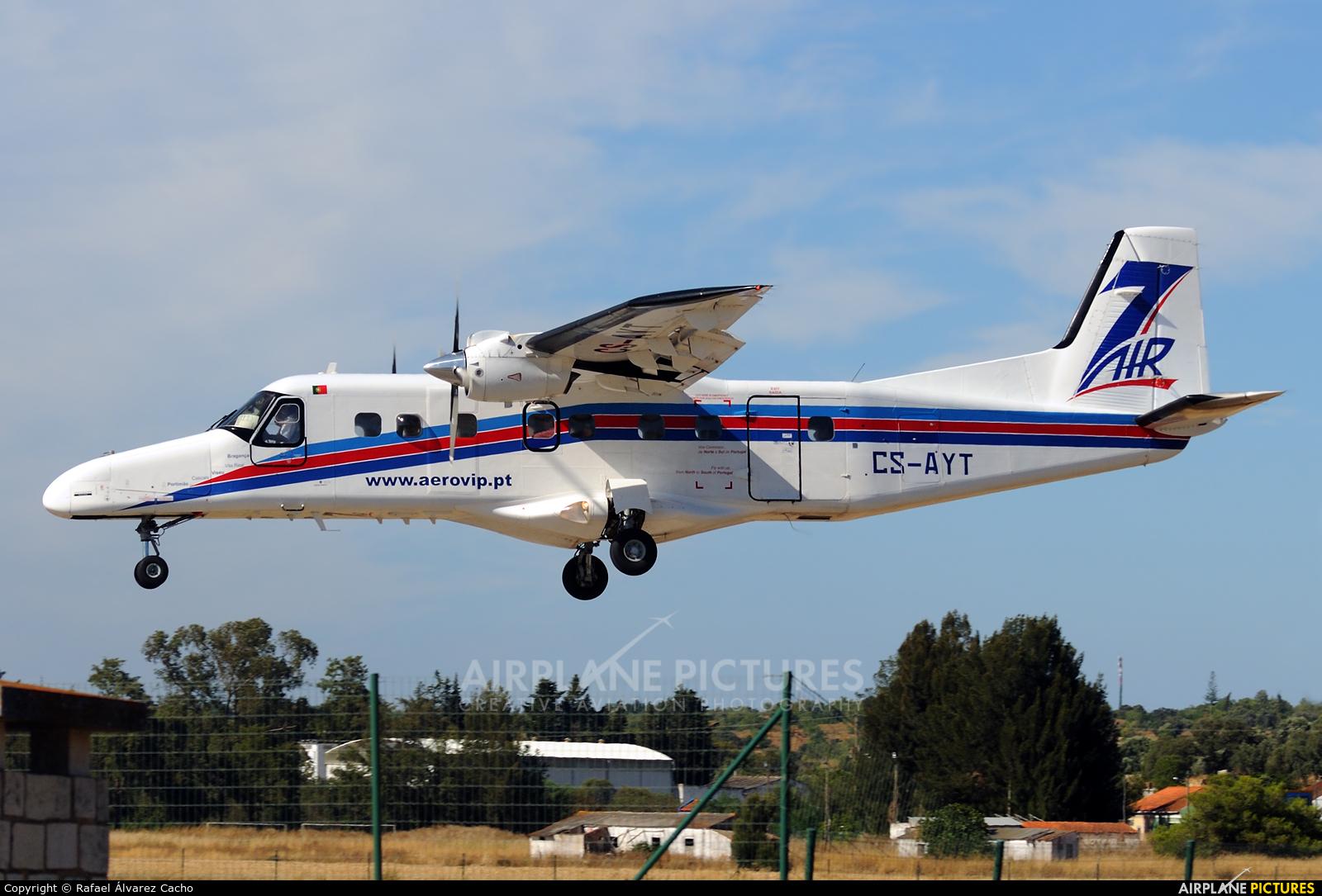 Aero VIP CS-AYT aircraft at Portimão