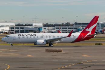VH-VXM - QANTAS Boeing 737-800