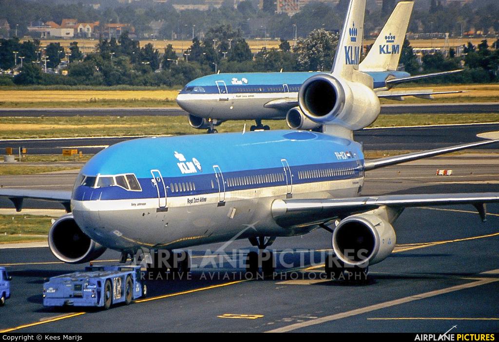 KLM PH-KCA aircraft at Amsterdam - Schiphol
