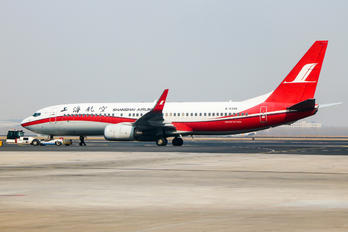 B-5395 - Shanghai Airlines Boeing 737-800