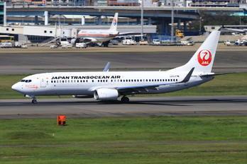 JA03RK - JAL - Japan Transocean Air Boeing 737-800