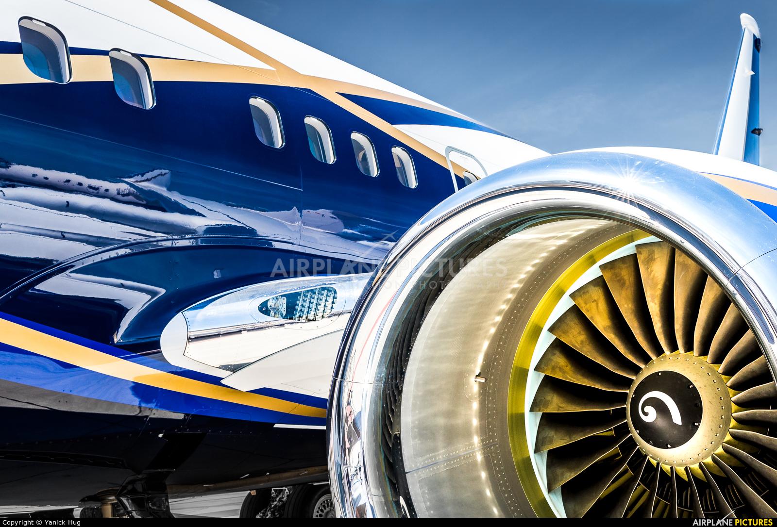 Boeing Company N839BA aircraft at Geneva Intl