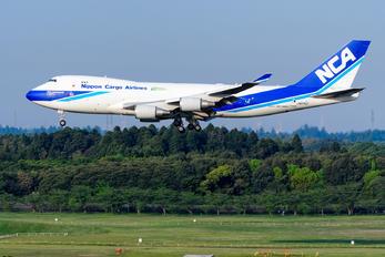 JA07KZ - Nippon Cargo Airlines Boeing 747-400F, ERF