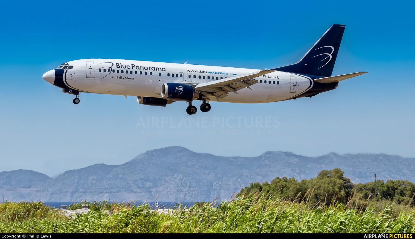 Blue Panorama Airlines EI-FVA aircraft at Rhodes - Diagoras