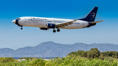 EI-FVA - Blue Panorama Airlines Boeing 737-4Q8