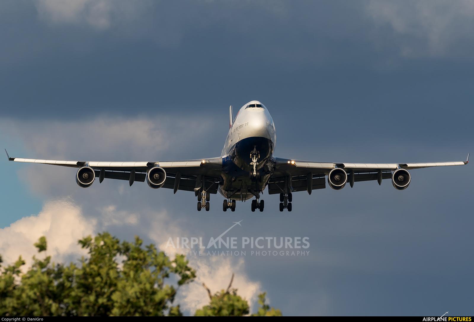 British Airways G-CIVW aircraft at London - Heathrow