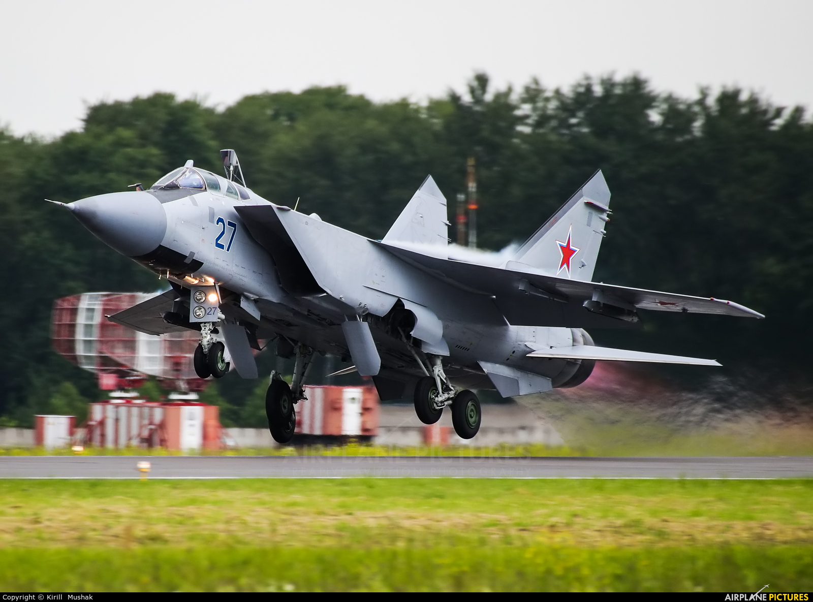 Russia - Air Force 27 BLUE aircraft at Undisclosed Location