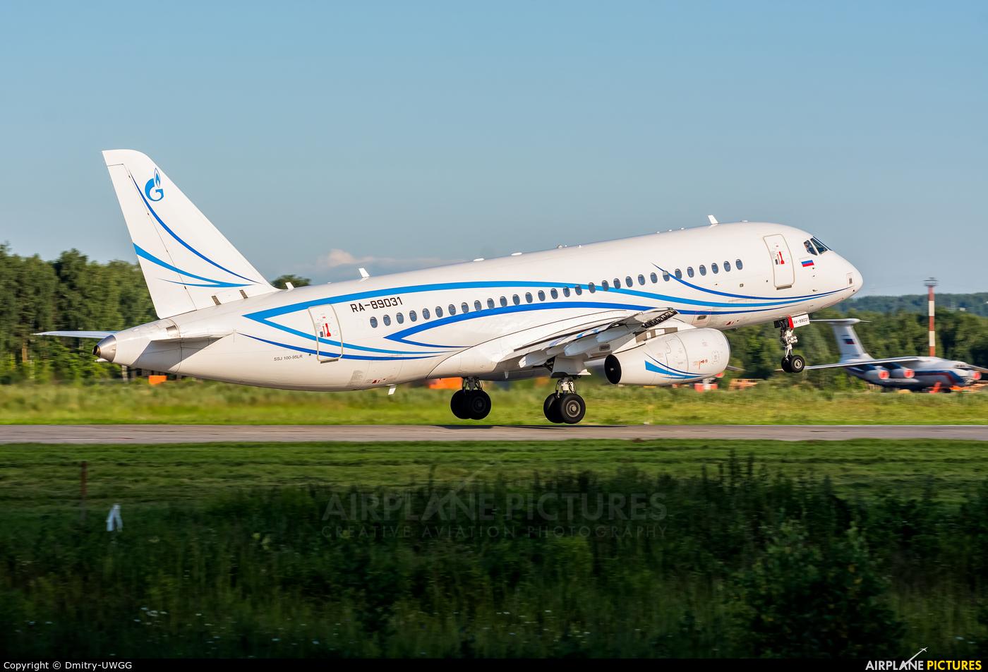 Gazpromavia RA-89031 aircraft at Nizhniy Novgorod
