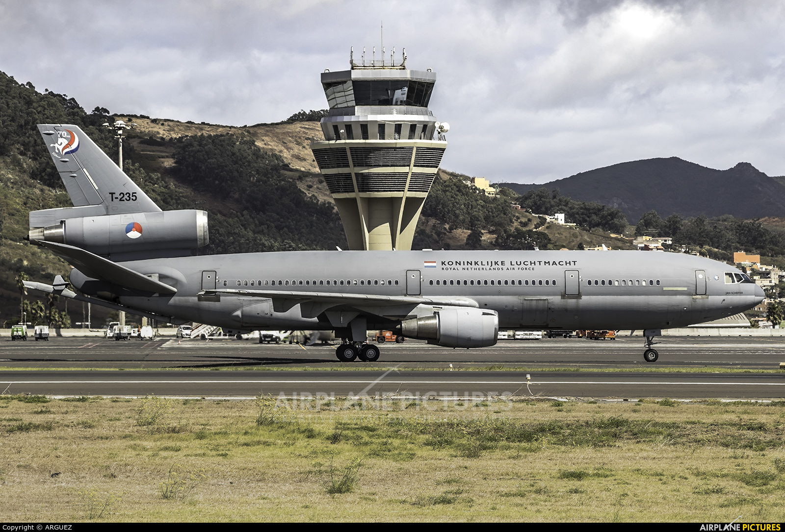 Netherlands - Air Force T-235 aircraft at Tenerife Norte - Los Rodeos