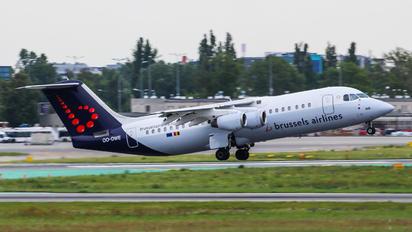 OO-DWE - Brussels Airlines British Aerospace BAe 146-300/Avro RJ100