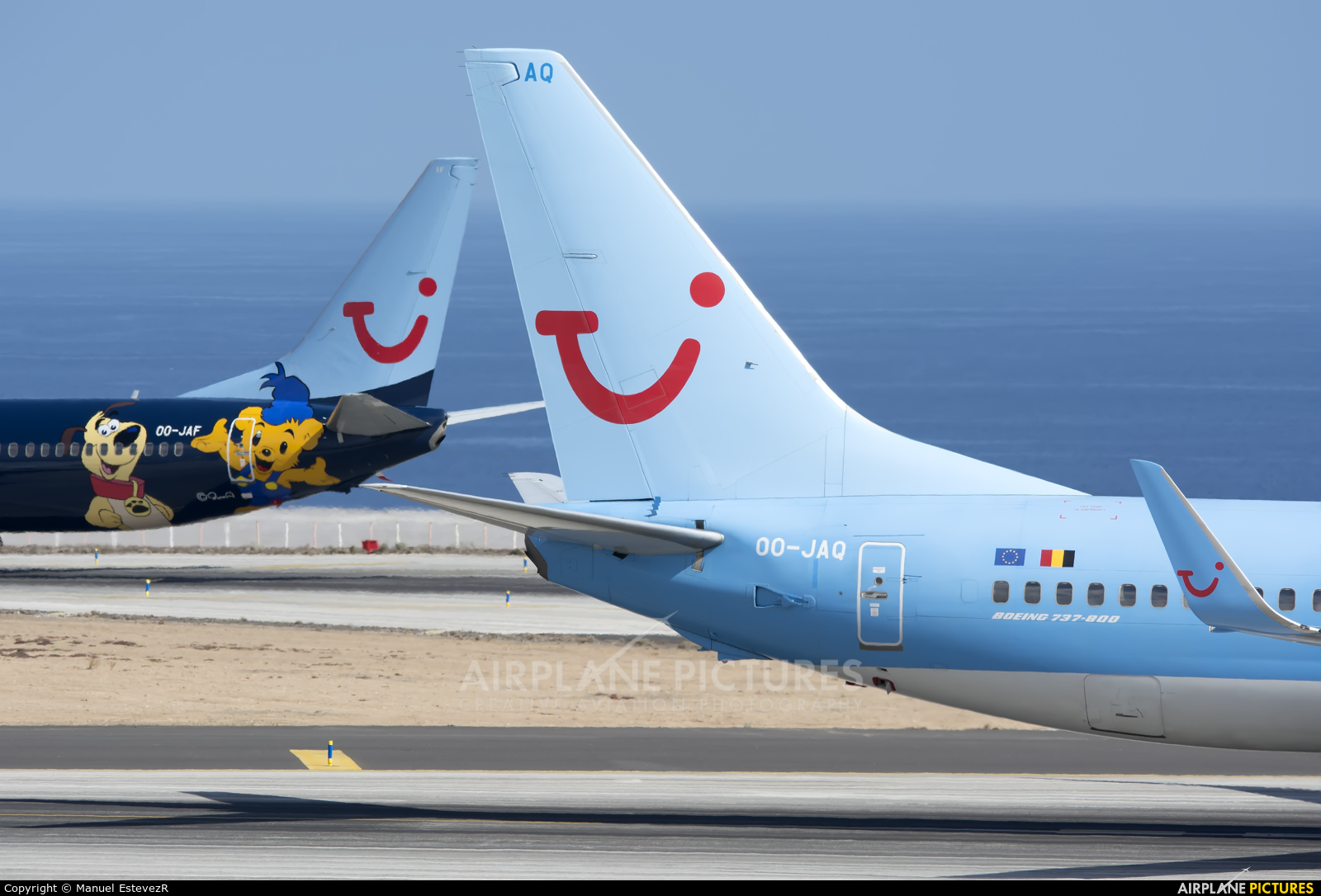 Jetairfly (TUI Airlines Belgium) OO-JAQ aircraft at Tenerife Sur - Reina Sofia