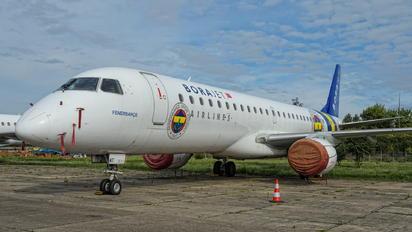 TC-YAT - Bora Jet Airlines Embraer ERJ-190 (190-100)