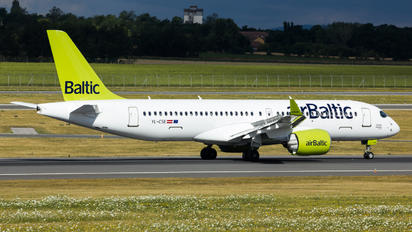 YL-CSE - Air Baltic Bombardier CS300